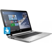 "HP 17S010NR ENVY 17.3"" LCD Intel Core i7-6500U 1TB HDD 12GB RAM Windows 10 Multi-Touch Notebook, Silver"