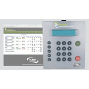 Icon Time Systems TotalPass Small Business Premium 500 Employees Proximity Time Clock, Gray (TP-PROX)
