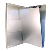 "Saunders Aluminum Form Folder, 8 1/2"" x 14"" , Opens Side"