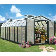 Rion Hobby Gardener 2 Twin Wall 8 Ft. W x 20 Ft. D Greenhouse