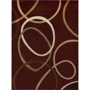 Home Dynamix Tribeca Red Area Rug; 5'2'' x 7'2''