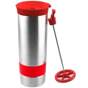 AdNArt The Hot Press Coffee Maker; Lipstick Red