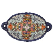 Novica Pedro Alba Talavera Wilderness 11.8'' Serving Bowl