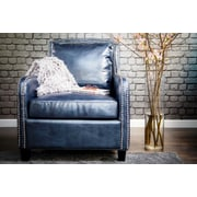 TOV Greenwich Leather Arm Chair