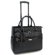 "Cabrelli & Co. 715023 Veronica VIP 15.6"" Rolling Laptop Bag, Black"