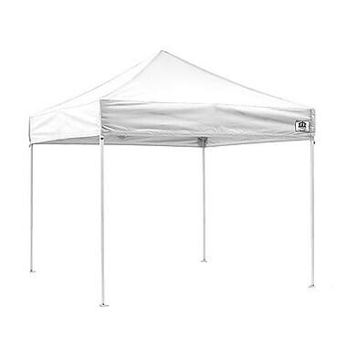 ImpactCanopy TLKIT 10x10 Pop Up Canopy Tent Instant Canopy Outdoor Beach Gazebo; White