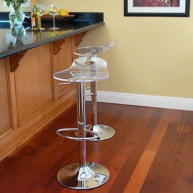 RST Living Portola Adjustable Height Swivel Bar Stool