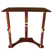 Spiderlegs Folding Laptop Desk/Tray Table; Red Mahogany