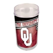 Wincraft Collegiate NCAA Glass (Set of 4); Oklahoma