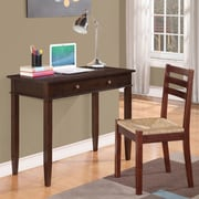 Simpli Home Carlton Computer Desk with Keyboard Tray