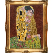 Tori Home The Kiss (Full View - Luxury Line) by Klimt Framed Hand Painted Oil on Canvas