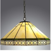 Warehouse of Tiffany Roman 2-Light Hanging Pendant
