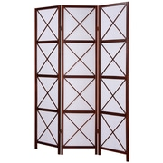 Roundhill Furniture 71'' x 51'' Screen 3 Panel Room Divider