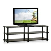Furinno Furinno Turn-S-Tube TV Stand; Dark Brown / Black