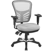 Modway Articulate Mid-Back Task Chair with Arms; Gray