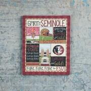 Glory Haus Florida State Spirit Magnet Textual Art