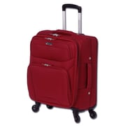 Mancini LiteFlite2 18.5'' Spinner Suitcase; Red