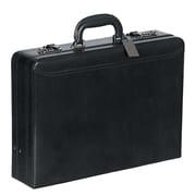 Mancini Business Leather Attach  Case; Black