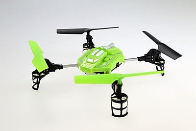 Odyssey Toys QR-10 Eclipse Quadcopter Drone, Green, Black