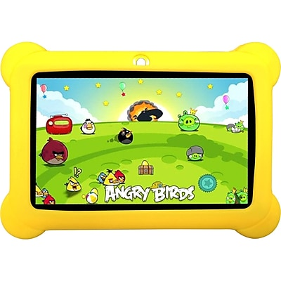 """""Worryfree Gadgets 7"""""""" Yellow Kids Tablet"""""" IM11N0191"