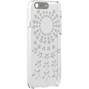 Mota ® White/Stars TPU LED Flashing Case for iPhone 6 Plus (MT-I6PLED)
