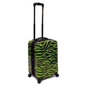 "Loudmouth 22"" Wild Expandable Spinner Luggage, Lime Green"