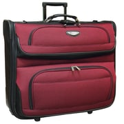 Travel Select Amsterdam Business Rolling Garment Bag, Red