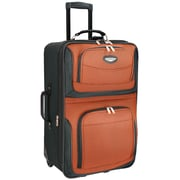"Travel Select Amsterdam 25"" Expandable Rolling Upright in Orange"