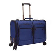 U.S. Traveler Stimson Carry-on Spinner Garment Bag, Blue