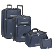 U.S. Traveler Westport 4-Piece Luggage Set, Navy