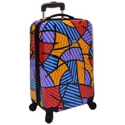 "U.S. Traveler 20"" Fashion Multi-Pattern Hardsided Spinner Luggage"