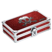 Vaultz® - Locking Pencil Box, Ruby Bling  (VZ01480)