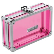 Vaultz® - Locking Pencil Box, Acrylic Pink (VZ00095)