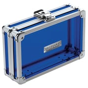 Vaultz® - Locking Pencil Box, Acrylic Blue (VZ00096)