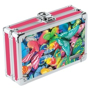 Vaultz® - Locking 3D Lenticular Pencil Box, Butterfly (VZ00291)