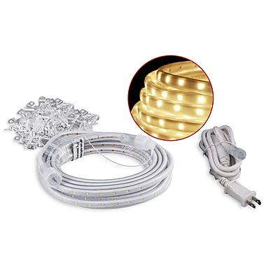 american lighting dimmable led rope lighting kits with 5ft cord and mounting hardware. Black Bedroom Furniture Sets. Home Design Ideas