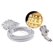American Lighting Dimmable LED Rope Lighting Kits with 5ft Cord and Mounting Hardware, 19.7ft, Warm White (103423)