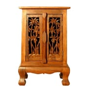EXP D cor Handmade 24'' Coconut Palm Storage Cabinet
