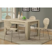 Monarch Specialties Inc. Washington Dining Table; Natural