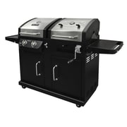 Dyna-Glo Gas Grill with Adjustable Charcoal Tray
