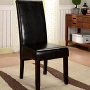 InRoom Designs Parson Chairs (Set of 2); Black