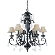 Dolan Designs Florence 6-Light Shaded Chandelier