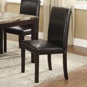 InRoom Designs Parsons Chair (Set of 4); Espresso