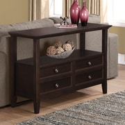 Simpli Home Amherst Console Table