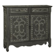 Coast to Coast Imports Mary Ellen 2 Drawer 2 Door Cabinet