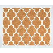 PTM Images Quatrefoil 2' H x 2' W Wall Mounted Bulletin Board