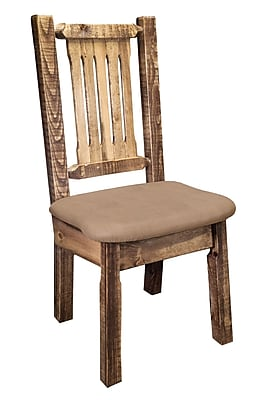 Montana Woodworks Homestead Side Chair; Buckskin WYF078277698447