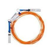 Mellanox® MC2210310-015 15 m QSFP Active Fiber Optic Network Cable, Orange