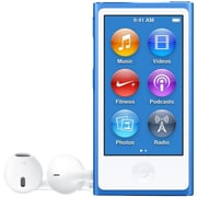 Apple iPod Nano 8G MKN02LL/A 16GB Flash Portable Media Player, Blue