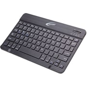 Califone (KB4) ABS Plastic Wireless Bluetooth Keyboard for Tablet/Computer/Smartphone/Notebook, Black